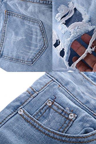 Les De Claires Jeans Pantalon en Femmes Bleues Rgulirement Jean Un en Denim rgw6rTFqxn