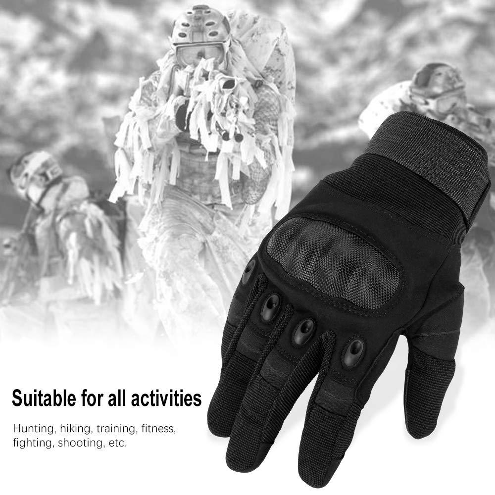 Airsoft,Chasse,Scooter,Paintball Ou dautres activit/és de Plein air Motocross Camping,Randonn/é Nasharia Gants Tactiques Renforc/és Ecran Tactile Respirable pour Auto Moto Combat V/élo