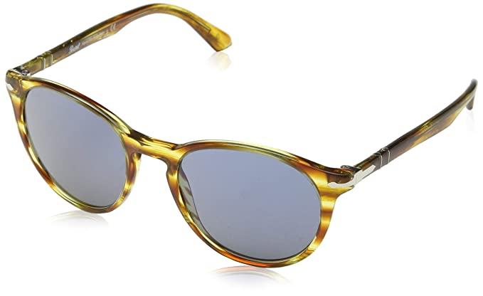 Persol 0Po3152S 904356 52 Gafas de sol, Amarillo (Striped ...