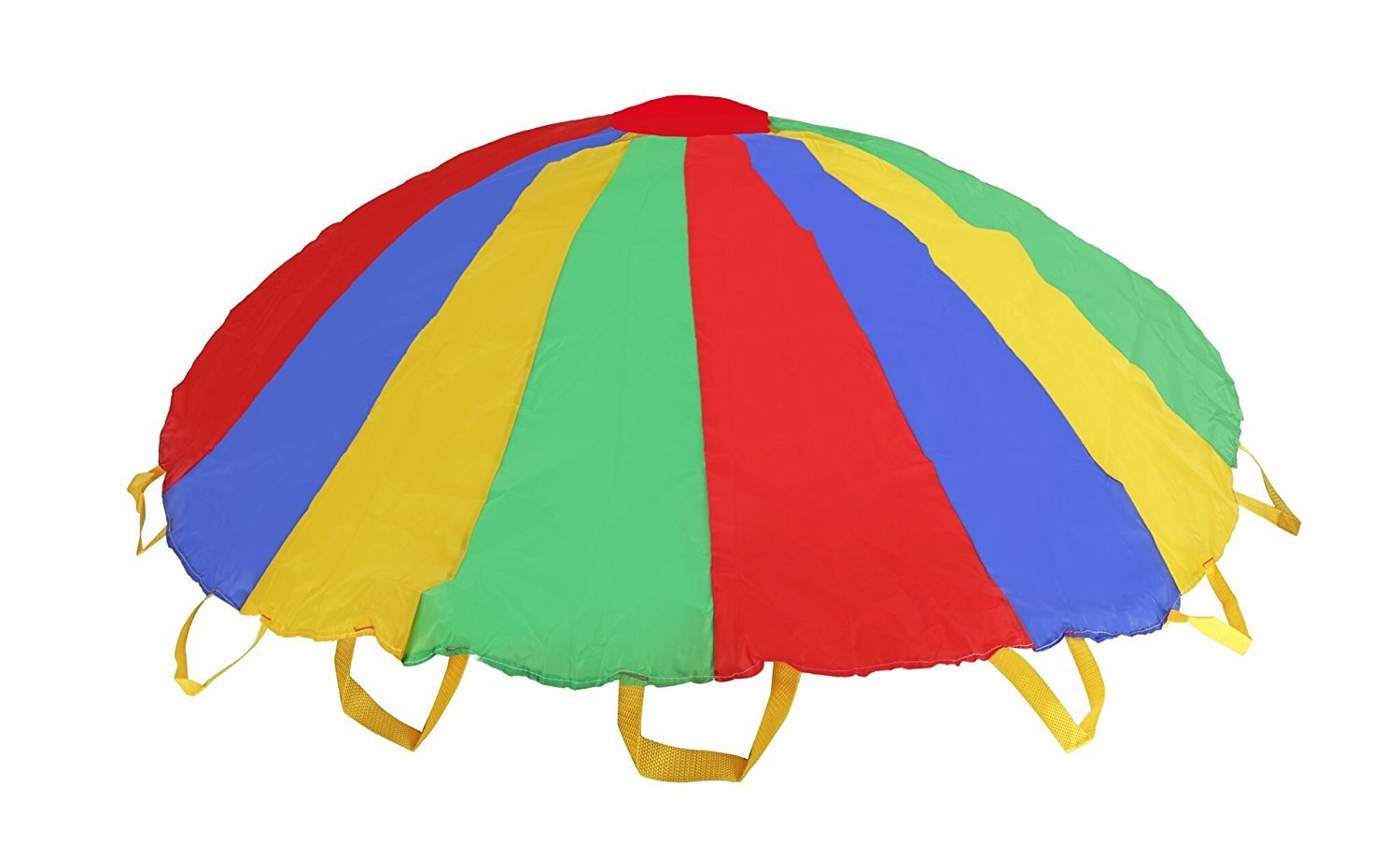 Parachute   5 Feet Multi-color Design Parachute with Handles For Kids to Hold on While Playing