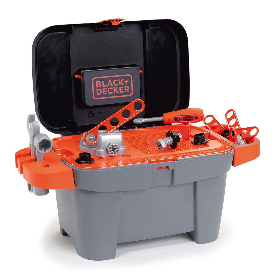 Kinder Werkzeugkoffer - Smoby Black und Decker Werkzeugkoffer