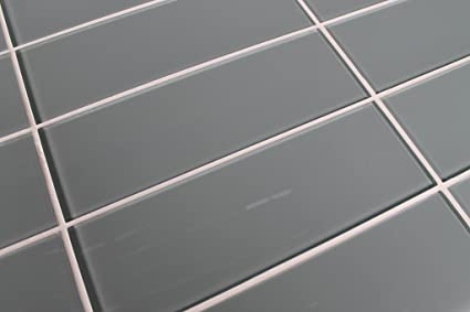 Swell Sample Color Swatch Of Chimney Smoke Light Gray 4X12 Glass Subway Tile For Kitchen Backsplash Tub Surround From Rocky Point Tile Download Free Architecture Designs Embacsunscenecom