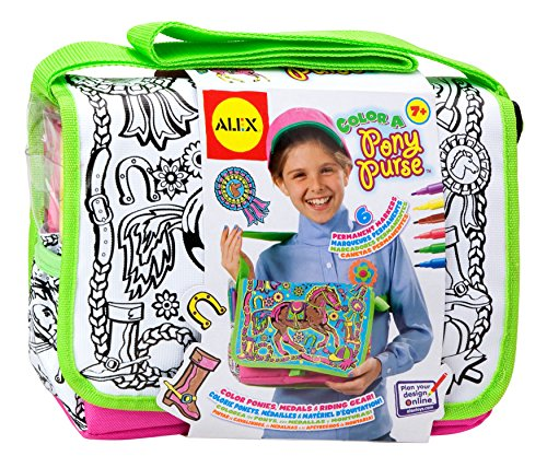 Color A Pony Purse - 1