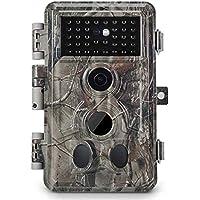 Hunting Camera 16MP 1080P HD Night Vision Animal Trap Trail Cam Monitor pf