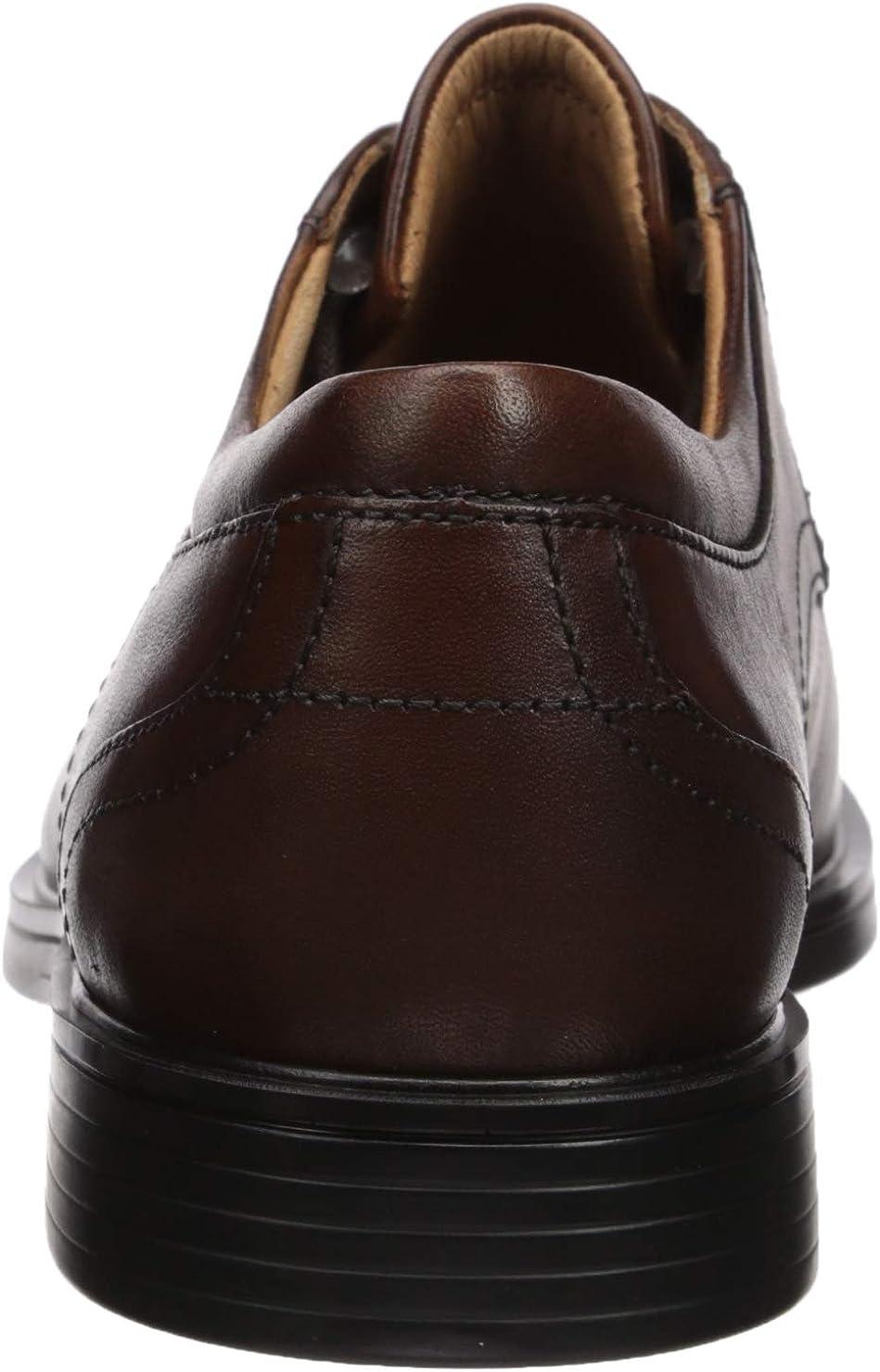 Details about  /Mens Clarks Formal Stitch Detail Lace Up Leather Heeled Shoes Un Aldric Park