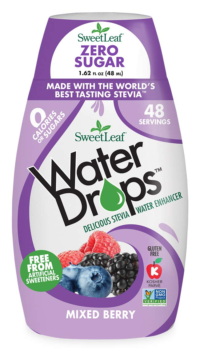 Sweetleaf Water Drops Mixed Berry 48ml