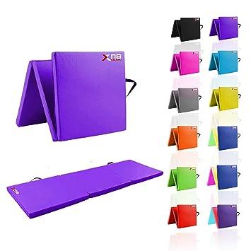 Xn8 - Esterilla de Espuma para Yoga y Yoga (Plegable, 6 cm ...