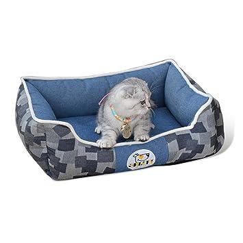 PETCUTE Cama para Perros Camas Perros pequeños para Cachorros Cama para Gatos Cama Acolchada para Mascotas