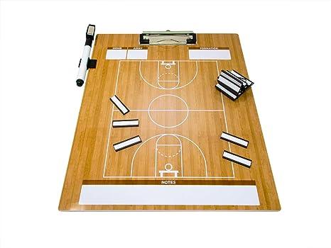 Trademark Innovations Pizarra magnética de Baloncesto para ...