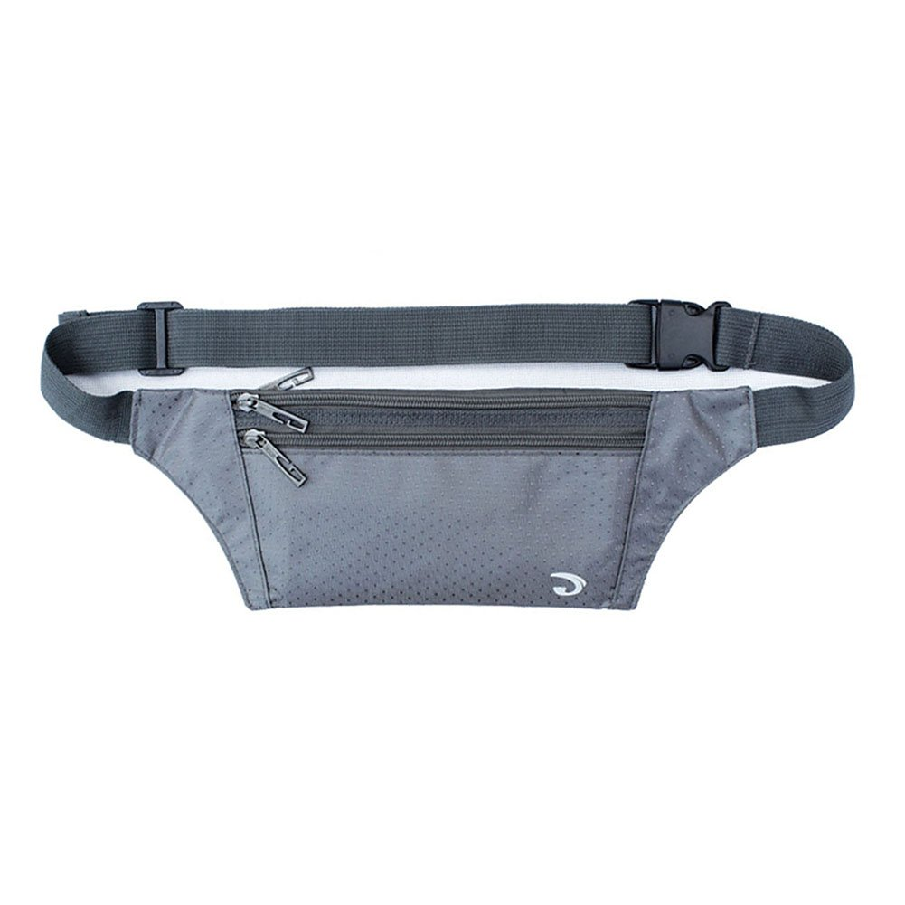 Fenarzo Unisex Slim Sports Fanny Pack (A-Grey) by Fenarzo (Image #1)