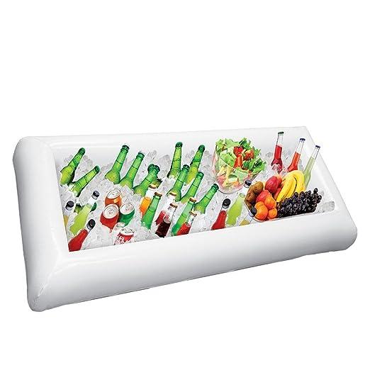 ZLFT® Barra Hinchable para Servir bufé y Ensalada con tapón de ...