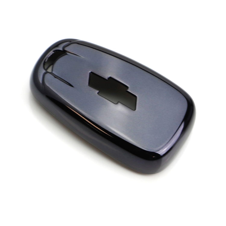 1X Keyless Remote Soft TPU Key Fob Cover Case Blue For Chevy Camaro Malibu Cruze Spark Volt Bolt