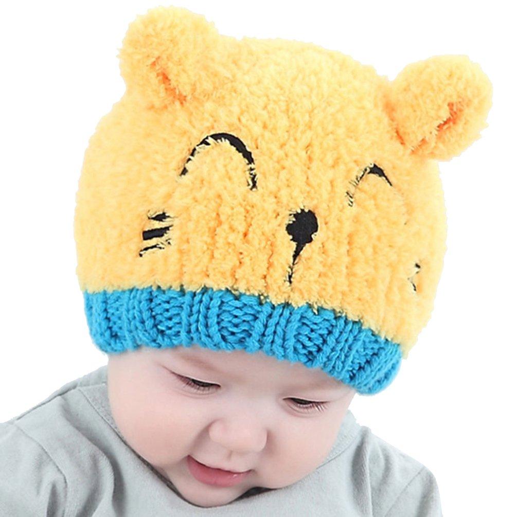 Meiyuan HAT ベビーボーイズ  イエロー B076MRT5M7