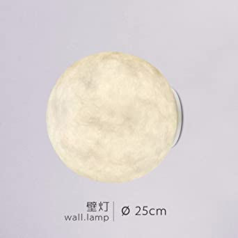 Wall Sconces Modern Simplicity Nordic Style Lunar Lamp Bedroom Bedside  Aisle Entrance Wall Lamp ,Moon