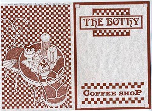 - The Bothy Restaurant Menu Coffee Shop Glasgow Scotland 1990's.