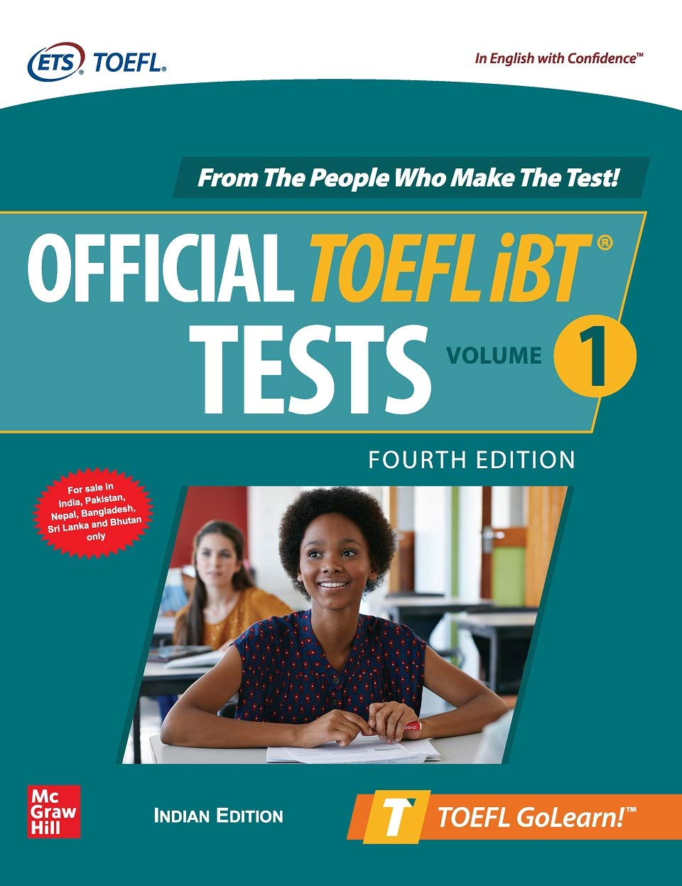 Official TOEFL iBT Tests Volume 1 – Fourth Edition