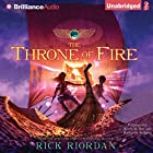 The Throne of Fire: Kane Chronicles, Book 2 Audiobook by Rick Riordan Narrated by Kevin R. Free, Katherine Kellgren