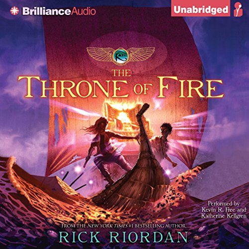 (The Throne of Fire: Kane Chronicles, Book 2)
