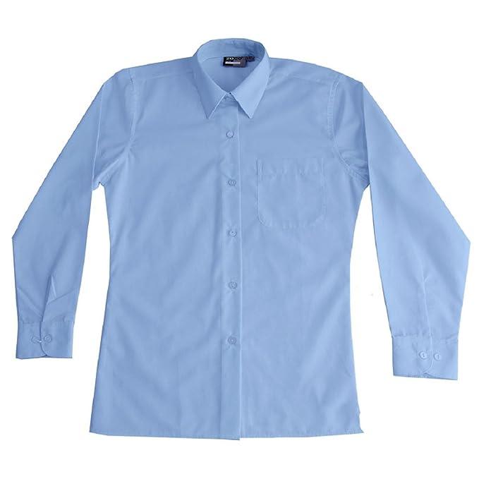 Ozmoint - Blusa - Manga Larga - para niña azul azul 62