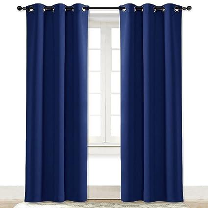 amazon com nicetown living room curtain window treatment energy