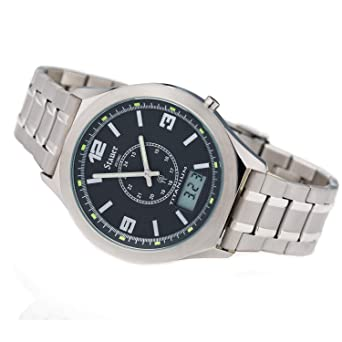 Stauer Titanium Atomic Mens Watch: Amazon.co.uk: Watches