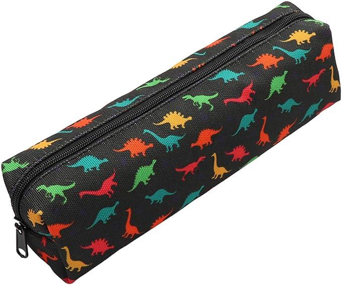 Pencil Pouch Travel Pouch Coin Purse Dinosaur Zippered Pouch Set Change Purse Purse Organizer Change Pouch