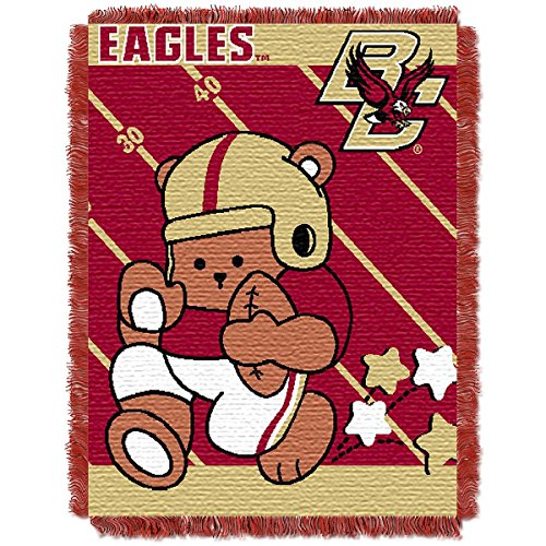 The Northwest Company BOSTON COLLEGE EAGLES FULLBACK BABY TRIPLE WOVEN JACQUARD THROW
