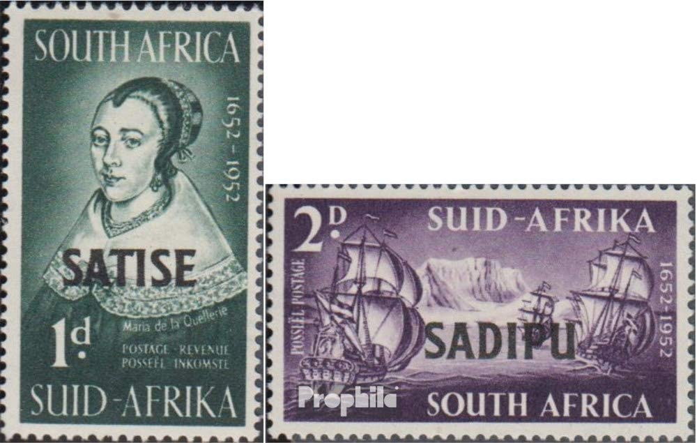 Prophila Collection Sudáfrica 229-230 (Completa.edición.) 1952 ...