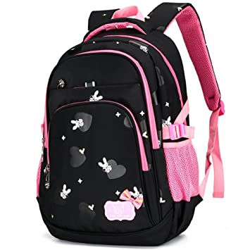 Primary School Backpack Book Bag for Girls Boys 7-12 Years Old 9790158ae5f26
