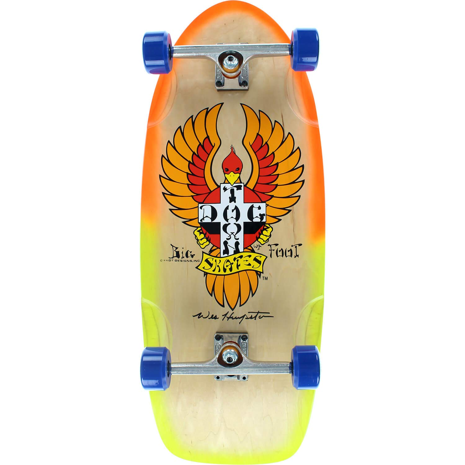 45fd789dd4 Amazon.com : Dogtown Skateboards Bigfoot Longboard Complete Skateboard -  11.75