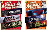 When Animals Strike Back Vol. 1 & 2 Bundle (Graveyard Shift/Silver Bullet/Pet Semetary/Orca/King Kong/Congo)