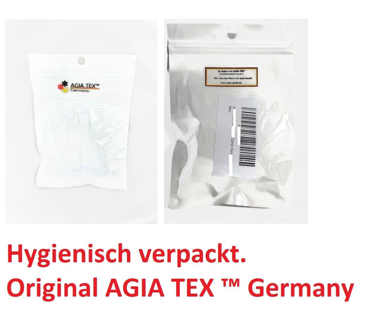 AGIA Tex 2X Zehenkappe Spitzenschoner aus Silikon Soft-Gel, Schutz in Spitze Schuhe Ballett High Heels Pumps AGIA TEX Germany