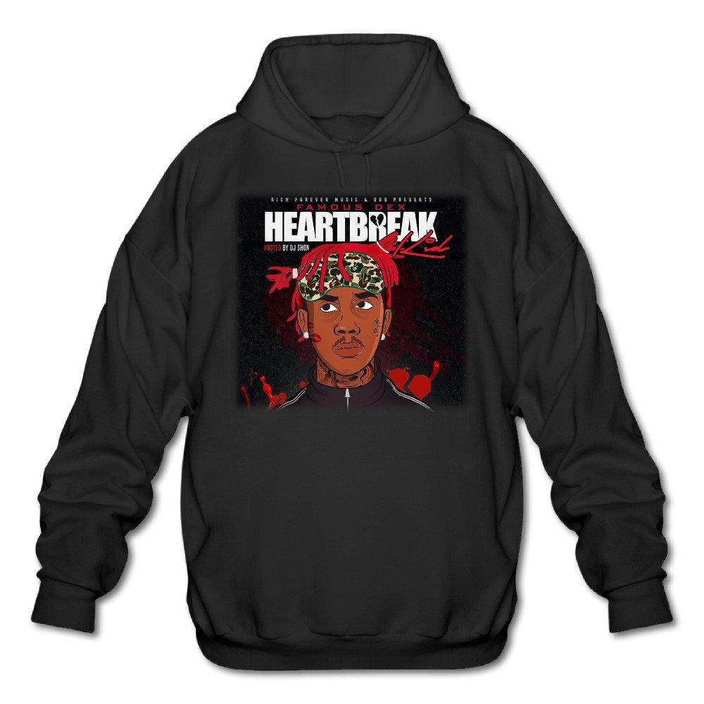 Now Then Mixtape Famous Dex Heartbreak Kid Mens Hooded Sweatshirt