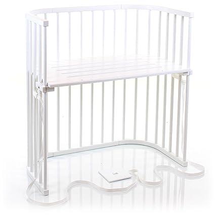 Babybay Boxspring - Cuna de colecho con ventilación extra, color blanco