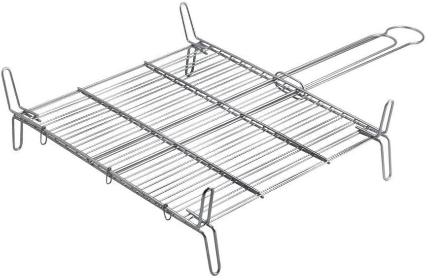 Metaltex 730435 - Parrilla doble especial, 35 x 35 centímetros
