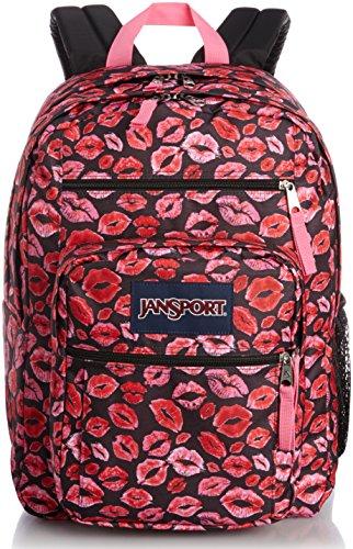 JanSport Big Student Classics Series Backpack - BLACK KISS ME QUICK ()