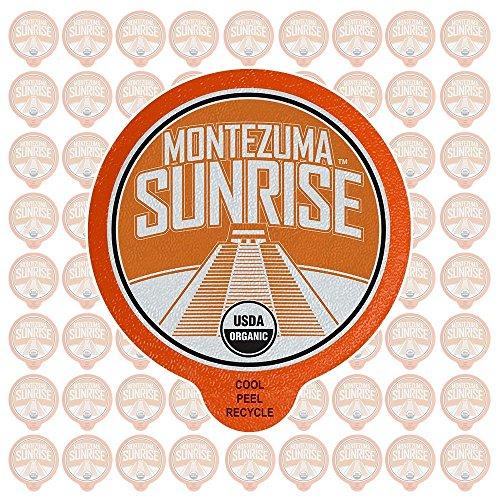 72-Count Fresh Roasted LLC Montezuma Sunrise Organic Coffee Pods from $17.64