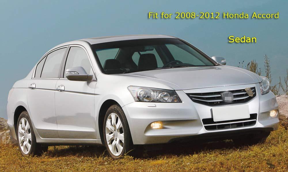 MOERTIFEI Car Mudguard Fender Mud Flaps Splash Guards fit for Honda Accord Sedan 2008 2009 2010 2012