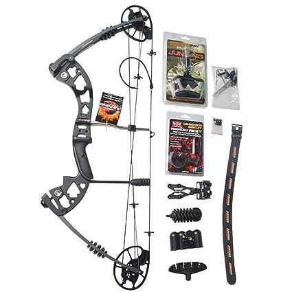 Amazon Com Zshjg Compound Bow Archery Set Adjustable Draw