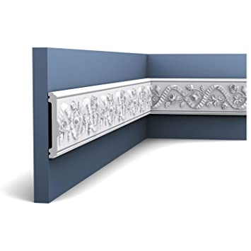 Moldura Cornisa Perfil flexible Orac Decor P7010F LUXXUS Elemento decorativo de estuco para pared y techo 2 m: Amazon.es: Bricolaje y herramientas