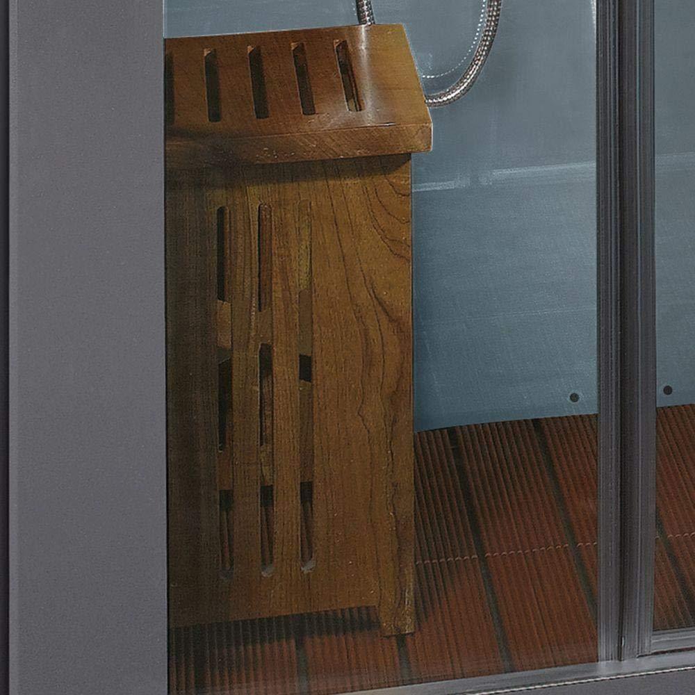 Ariel Platinum DZ972-1F8-W Steam Shower in White 59\