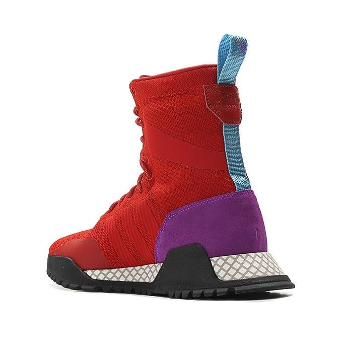 reputable site c2783 97275 Amazon.com  adidas Mens Originals AF 1.3 PK Primeknit Boot REDPurpleBlack   Fashion Sneakers