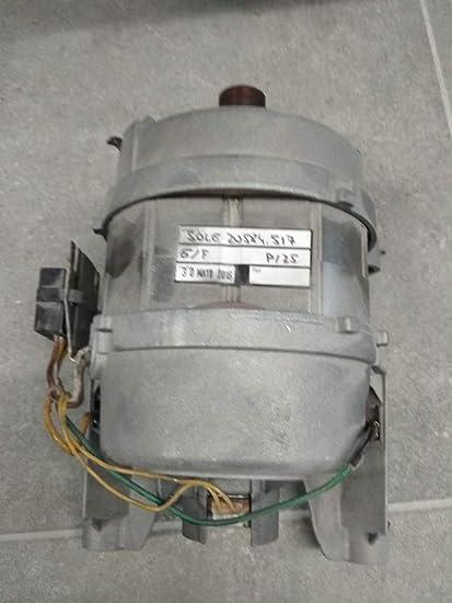 Electrolux - Motor lavadora AEG 6 cables polea J: Amazon.es ...