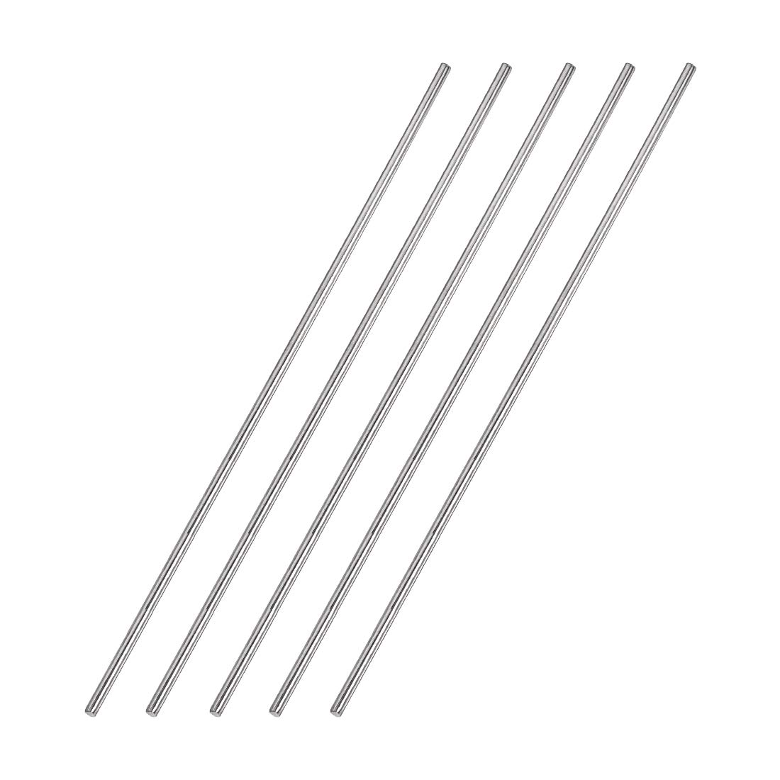5pcs 1mm x 150mm 304 Stainless Steel Solid Round Rod for DIY Craft