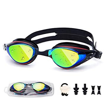 1af078e8995 Amazon | UTOBEST 水中メガネ 水泳ゴーグル くもり止め 度付き 度なしも ...