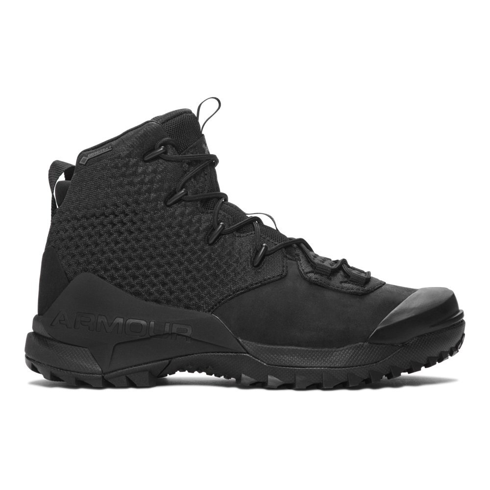 Under Armour Men's Infil Hike GORE-TEX, Black (002)/Black, 10 by Under Armour