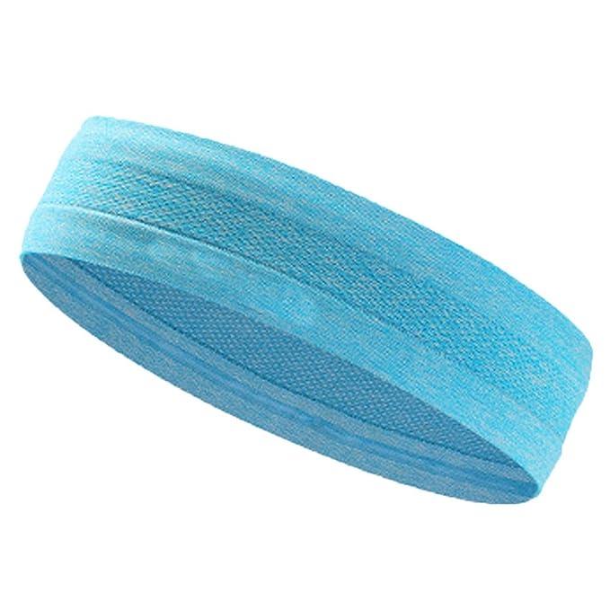 Huihong Unisex Sport Stirnband Stretch Sport Schweiß Schweißband