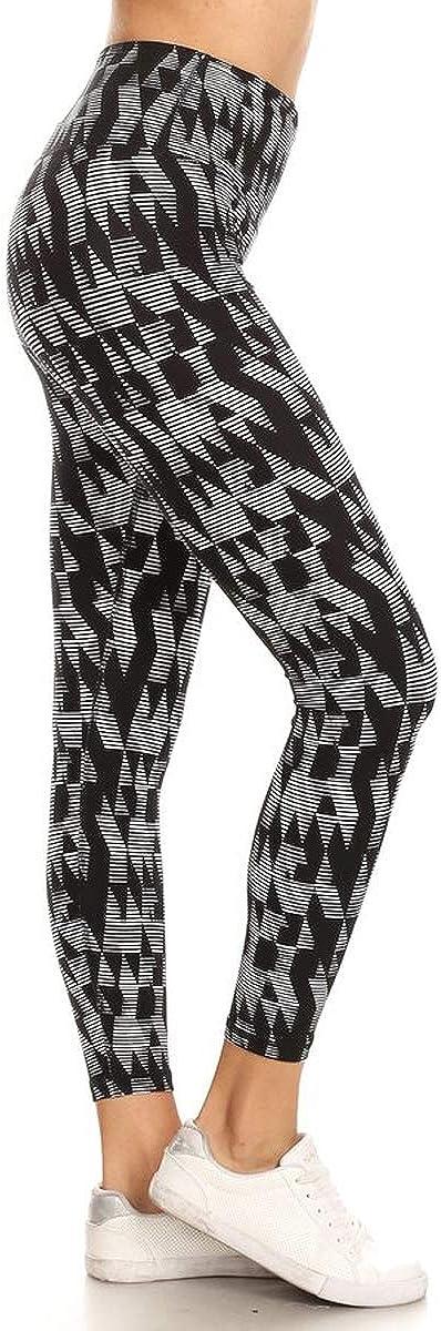 High Waist Active Flex Tummy Control Athletic Leggings /& Shorts with Hidden Inner Pockets
