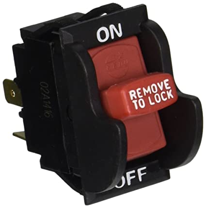Aftermarket On-Off Toggle Switch for Delta 489105-00 & Ridgid 46023
