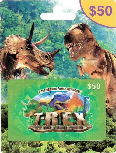 - T-Rex Cafe $50 Gift Card